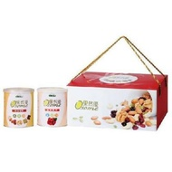 【送禮讚】統一生機果然優雙堅禮盒 (綜合堅果+蔓越莓乾)