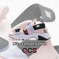 Nike 涼鞋 Wmns Canyon Sandal 粉紅 紫 黑 女鞋 魔鬼氈 【ACS】 CV5515-600