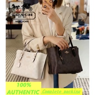 100% Coach portable female small tote bag portable shopping bag in stock with receipt 4250