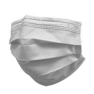 【豐生銳】成人醫療級平面口罩 灰色x1盒(50片/盒)