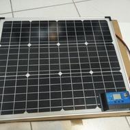 50W高效能單晶太陽能板套裝