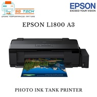 [$10 NTUC E-VOUCHER REDEEM] Epson L1800 A3 Photo Ink Tank Printer 1800