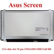 ASUS N550JV FX504 A550J FX553VD X540L N550J G551J G550J GL552J GL552V GL552VW GL553 GL553VD K541U ROG GL552 ROG GL552 X452U A570 A570Z screen จอ หน้าจอ 15.6 slim slot 30 pin 1920x1080 FHD Full HD