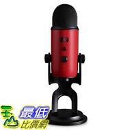 [8美國直購] 全新 現貨 兩年保固 Blue Yeti USB Microphone 專業電容式 麥克風 紅色