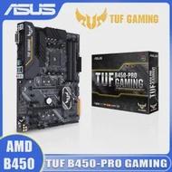Socket AM4 Asus TUF B450-PRO GAMING Motherboard AMD Ryzen 64GB DDR4 PCI-E 3.0 M.2 USB3.1 Desktop B450 Placa-mãe AM4 Gaming ATX