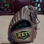 ZETT 日製硬式最高等級Pro外野手套