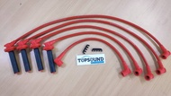 Toyota Corolla AE86 4AGE 16V Arospeed Triple Core 10.2mm Ignition Plug Cable (5 cable)