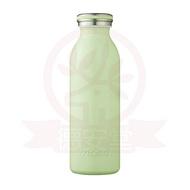 日本mosh!牛奶系保溫瓶(450ml)-抹茶綠x1