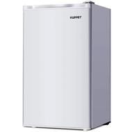 Kuppet-Mini Refrigerator Compact Refrigerator-Small Drink Food Storage Machine for Dorm, Garage, Camper, Basement or Office, Single Door Mini Fridge, 3.2 Cu.Ft