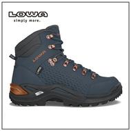 德國 LOWA 男 中筒多功能健行鞋 海軍藍/銅 RENEGADE GTX® MID-LW310920-6943