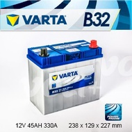 『+正負極-』德國銀合金 VARTA 華達〈B32 45AH〉TOYOTA豐田 豐田 YARIS 1.5 2007年後 ALTIS 電瓶適用 - 台北電瓶電池