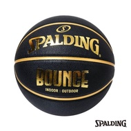 【SPALDING】斯伯丁 Bounce 籃球 PU 7號(黑/金)