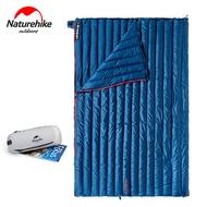 Naturehikeอัพเกรดถุงนอนห่านลงUltralightประเภทซองจดหมายCampingกลางแจ้งMini Warm CWM400/CW280 800FP