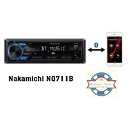 Nakamichi NQ710B - CD Receiver with Bluetooth(R) Wireless Technology and Front U