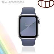 hot สาย applewatch สายรัดซิลิโคนสำหรับ AppleWatch Series 6 SE/5/4/3/2/1 ขนาด 38/40/42/44 มม