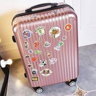 กล่องรถเข็นย้อนยุคชายกระเป๋าเดินทางนักเรียนหญิงเกาหลี20-กระเป๋าเดินทางโครงอลูมิเนียมขนาดนิ้ว24กล่องรหัสผ่าน26กระเป๋าเดินทาง