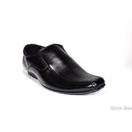 Cabaye รองเท้าหนังผู้ชาย รองเท้าคัชชู CA124 - Black
