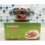 The Corning Thick Buckle Of Snapware Glass Crisper Amber 370ml With Out Box