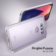 LG V30 / V30+|Rearth Ringke Fusion 防刮背蓋 防撞邊框 手機殼 透明殼 軍規防摔