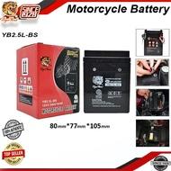 ∋☇SLAE-Tiger Head Motorcycle Battery 12V Motolite Motorcycle Battery