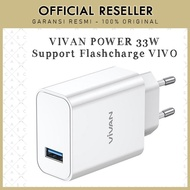 Vivan Power 33W 33W Flash Charger Adapter For Vivo Flash Charger
