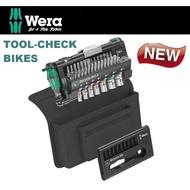 德國Wera棘輪扳手/彩色套筒/起子頭鐵馬工具組-附帆布包TOOL-CHECK BIKES