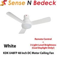 KDK U48FP 48 Inch LED DC Motor Ceiling Fan