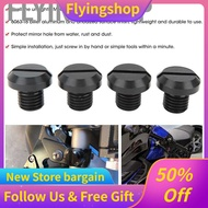 [Wholesale Price] 2 Pair of  M10x1.25 Rearview Side Mirror Hole Plugs Screw Fits for Ducati Hypermotard