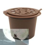 Welcomehome รีฟิลแบบใช้ซ้ำได้แคปซูลกาแฟกรองสำหรับเครื่องทำกาแฟเนสเพรสโซ