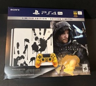 Sony PS4 Pro 1TB Death Stranding Limited Edition Bundle NEW