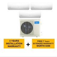 Midea System 3 Aircon Ms40D21-3Xsmkm09