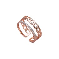 {Ready Stock}cincin couple anniversary gift rings cincin silver 925 original adjustable ring cincin silver perempuan cou