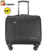 Swiss Saint 2009 กระเป๋าเดินทาง แบบล้อลาก กระเป๋าใส่เอกสาร กระเป๋าใส่โน๊ตบุ๊ค กระเป๋าใส่เสื้อผ้า คุณภาพดี Warranty ลิขสิทธิ์แท้ 100% ขนาด 16 นิ้ว รุ่น 082 new arrival