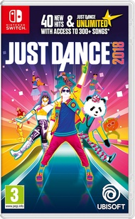 NS 舞力全開2018 (含3個月Unlimited會籍) -英文亞版- Just Dance 2018 Switch Mario
