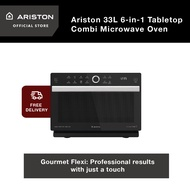 Ariston 33L 6-in-1 Tabletop Combi Microwave Oven MWC 339 BL + FREE Delivery