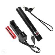 可調焦雷射筆(實拍+用給你看) 超長射程303激光筆 鐳射筆 雷射筆 綠光雷射筆 手電筒 激光筆 指示燈