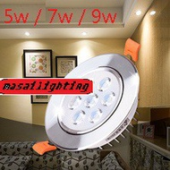 LED EYEBALL 5W/7W/9W WHITE/ WARM WHITE  / LED DOWNLIGHT