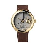 四度空間機械錶 淬鍊黃銅款(水泥機械錶/水泥錶)