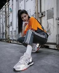 KUMO SHOES-現貨 Adidas Original 吊帶褲 連身褲 反車縫線 灰色 DU8181