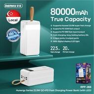 REMAX 80000/ 60000 / 50000mAh Fast Charging Power Bank RPP-266, RPP-173 / RPP-185 / RPP-200 / RPP-162
