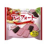 日本 bourbon 帆船巧克力 草莓巧克力 抹茶 帆船餅乾