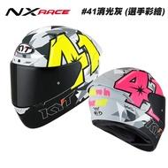 KYT NX-Race 選手彩繪 41消光灰 全罩安全帽 ESPARGARO REPLICA 2019