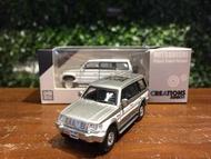 1/64 BM Creations Mitsubishi Pajero 2nd White 64B0024【MGM】