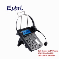 hion SIP lines call center VoIP SIP Phone IP Phone with RJ9 headset telephone