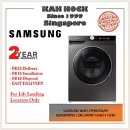 SAMSUNG WW12TP94DSX/SP QUICKDRIVE 12KG FRONT LOAD 4 TICKS - 2 YEARS LOCAL WARRANTY