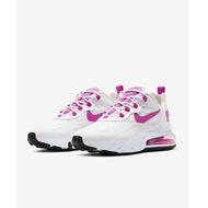 【日本海外代購】Nike Air Max 270 React 桃紅 增高 白紅 白 氣墊 慢跑鞋 CJ0619-100