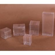 (現貨) 正方形 PVC透明包裝盒 透明塑膠盒 透明塑膠盒  百元福袋 娃娃機商品批發