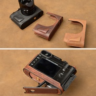 手工 真牛皮 萊卡 徠卡 Q typ116  皮套 相機包 手柄 底座 半套  極客玩家  ATF