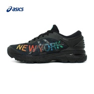 ASICS Kayano 25 NYC New York City Marathon limited edition commemorative sneakers male support running shoes 1011A021 Black Knight cross country shoes