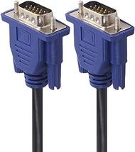 SVGA VGA Computer Monitor Cable Male to Male VGA Cord Compatible for HP Pavilion 22er 23er 25er 27er 27xw 25xi 27xi 24uh,EliteDisplay E273 E243 E243m E233 E223